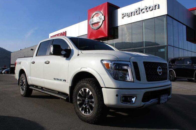 2018 Nissan Titan PRO-4X EXECUTIVE DEMO - Includes A/T tires, Tonneau cover and more Penticton BC