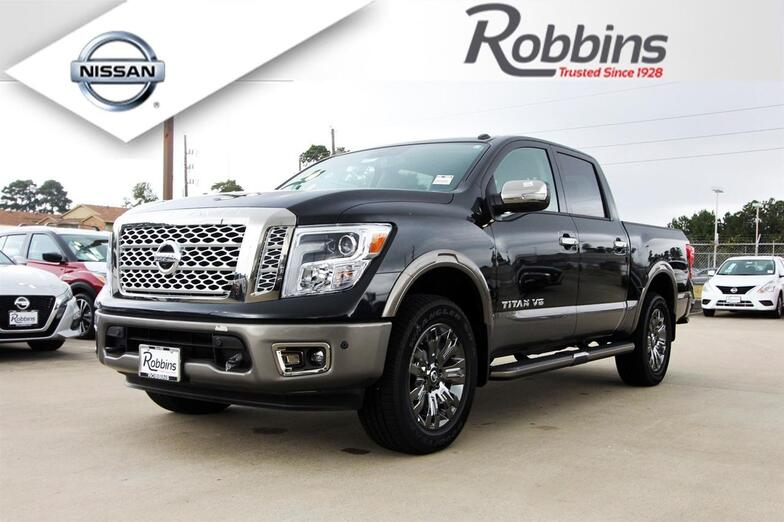 2018 Nissan Titan Platinum Reserve Houston TX