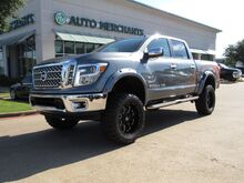 2018_Nissan_Titan_SL Crew Cab 4WD LEATHER, NAVIGATION, BACKUP CAMERA, BLIND SPOT MONITOR, KEYLESS START, BLUETOOTH_ Plano TX