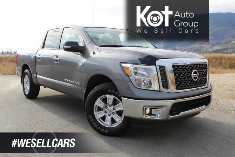 2018 Nissan Titan SV, Leather, Only 32,534 Km, No Accidents, Kelowna BC