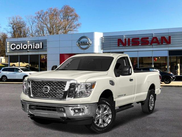 2018 Nissan Titan XD 4x4 Gas Single Cab S