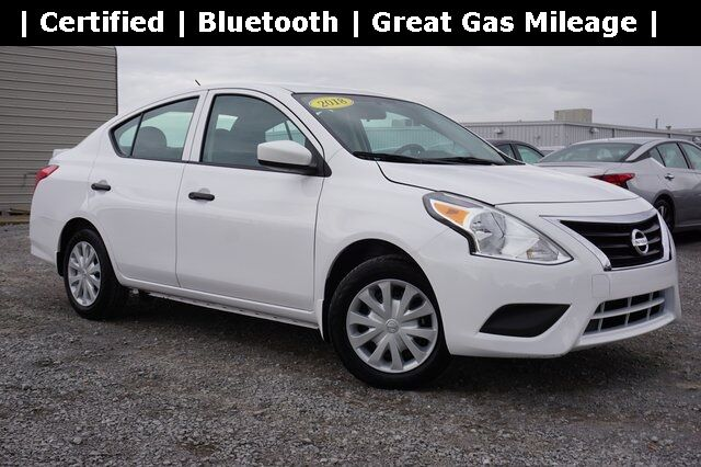 2018 Nissan Versa 1.6 S Plus Shelbyville TN