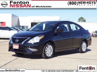 2018_Nissan_Versa_1.6 S Plus_ McAlester OK