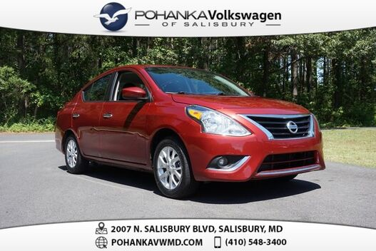 2018_Nissan_Versa_1.6 SV ** GUARANTEED FINANCING ** 39+ MPG **_ Salisbury MD