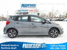 2018_Nissan_Versa Note_SR, Navigation, Heated Seats, Around View Monitor, Backup Camera, Bluetooth, SiriusXM_ Calgary AB