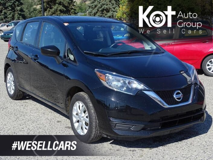 2018 Nissan Versa Note SV, No Accidents, Back-up Cam, Heated Seats Kelowna BC