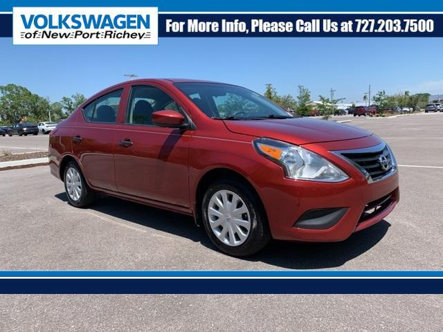 2018 Nissan Versa S Plus CVT New Port Richey FL
