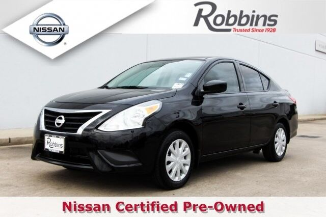 2018 Nissan Versa Sedan S Plus Houston TX