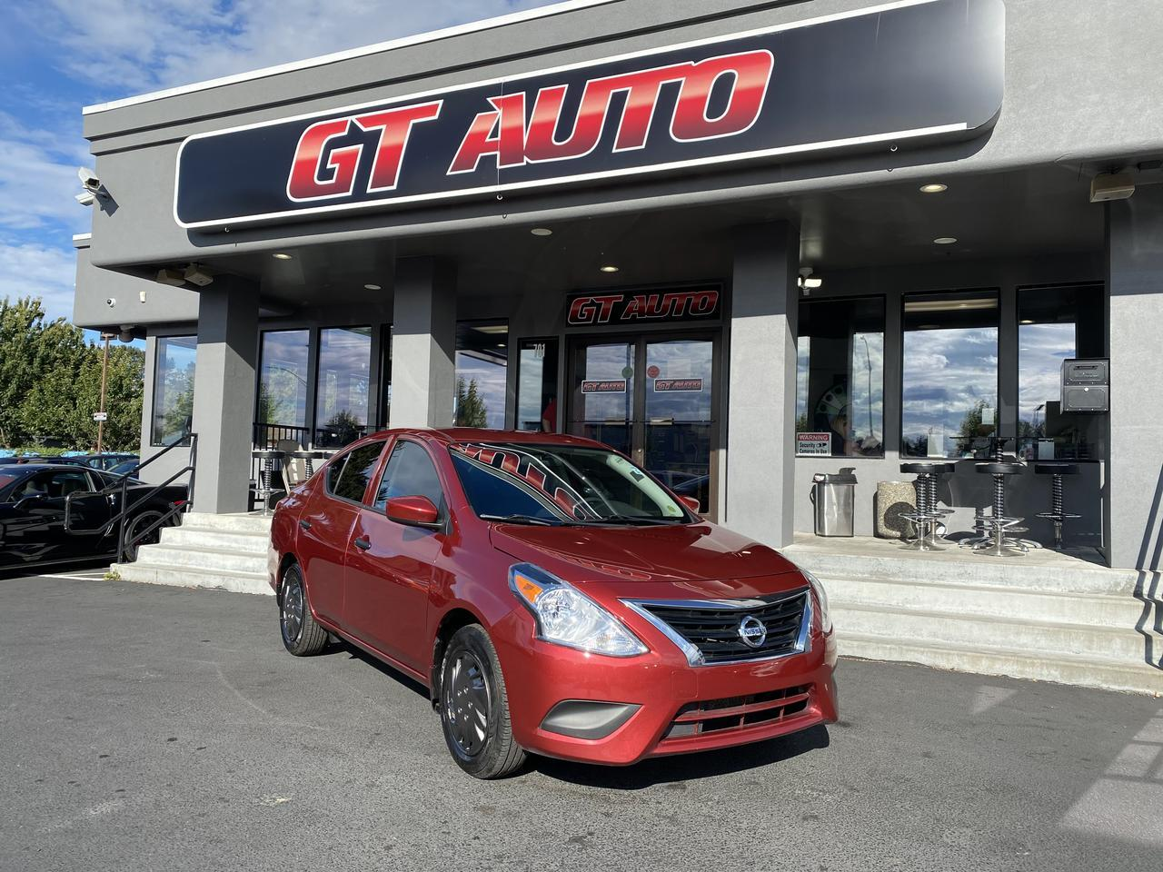 2018 Nissan Versa Sedan *S Plus Sedan 4D* Puyallup WA