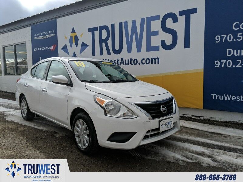 2018 Nissan Versa Sedan SV CVT Cortez CO