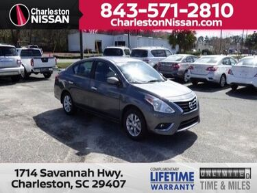 2018_Nissan_Versa Sedan_SV_ Charleston SC