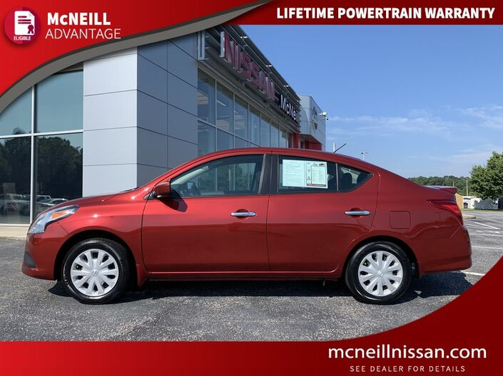 2018 Nissan Versa Sedan SV High Point NC