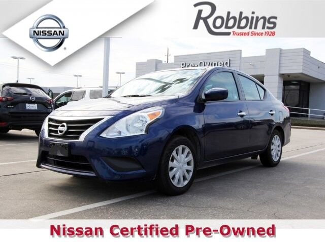 2018 Nissan Versa Sedan SV Houston TX
