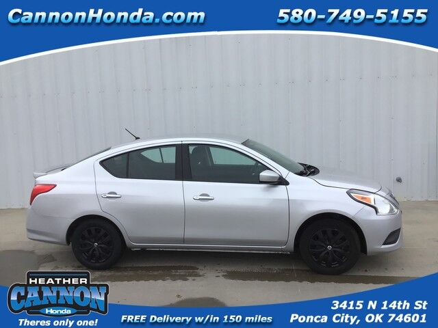2018 Nissan Versa Sedan SV Ponca City OK