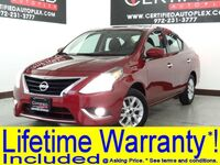 Nissan Versa Sedan SV REAR CAMERA KEYLESS ENTRY REAR SPOILER FOG LIGHTS BLUETOOTH AUX/USB INPU 2018