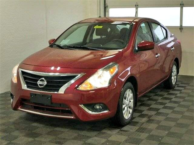 2018 Nissan Versa Sedan SV w/Alloys & Low Miles Buffalo NY