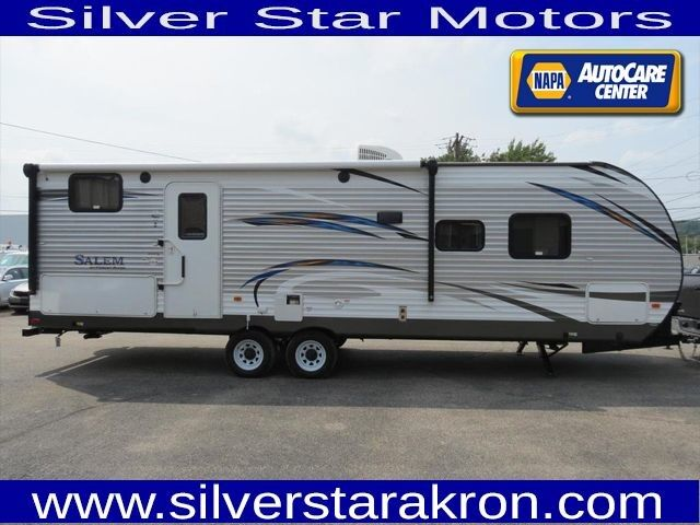 2018 No Make Salem 27DBK Camper Travel Trailer Outside Kitchen Trailer Tallmadge OH