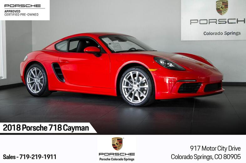 2018 Porsche 718 718 Cayman Colorado Springs CO