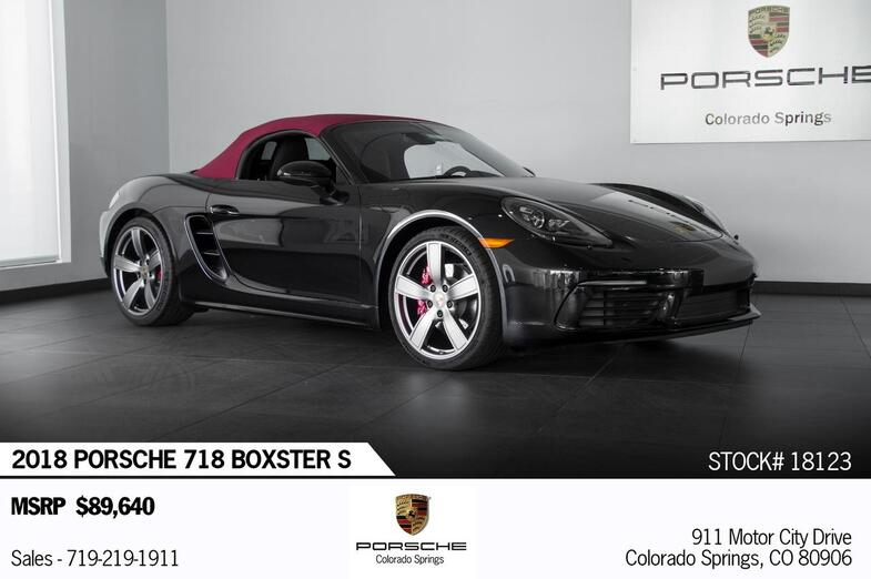 2018 Porsche 718 Boxster Boxster S Colorado Springs CO