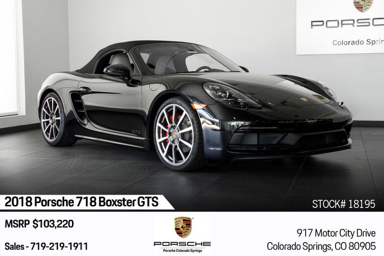 2018 Porsche 718 Boxster GTS Colorado Springs CO