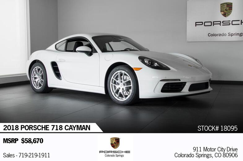 2018 Porsche 718 Cayman Cayman Colorado Springs CO