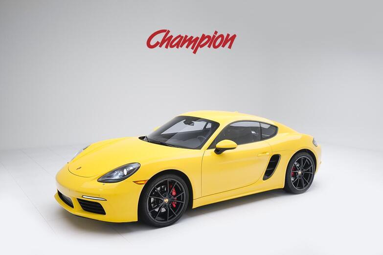 2018 Porsche 718 Cayman S Pompano Beach FL