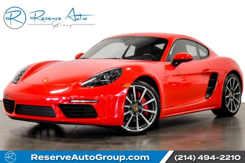 2018 Porsche 718 Cayman S Premium Pkg Plus 20 Carrera Classic Whls Navigation The Colony TX