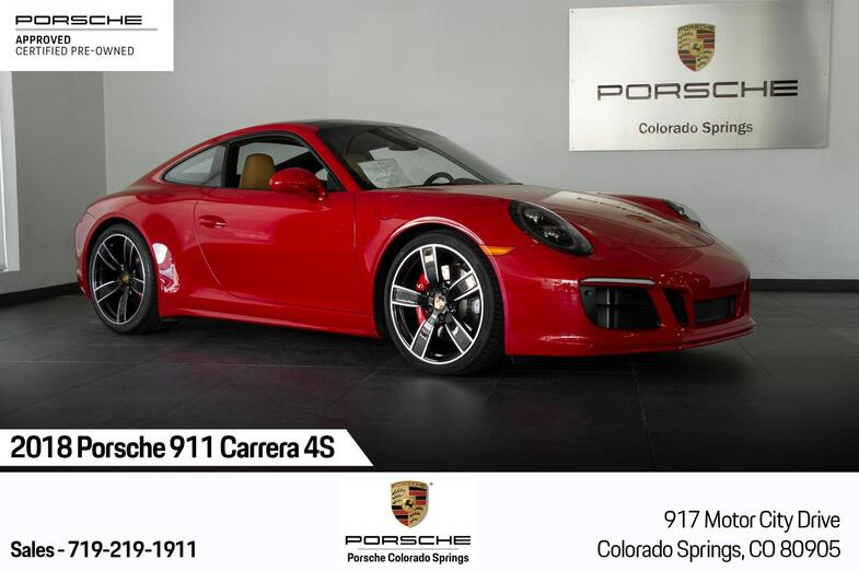 2018 Porsche 911 911 Carrera 4S Colorado Springs CO
