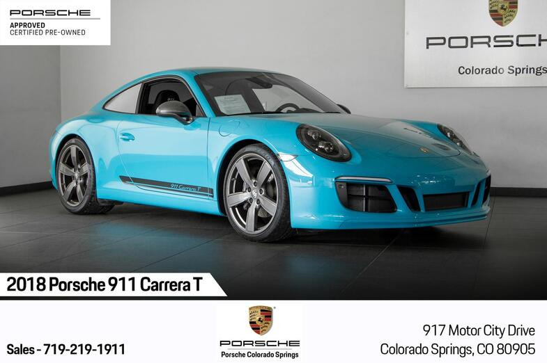 2018 Porsche 911 911 Carrera T Colorado Springs CO
