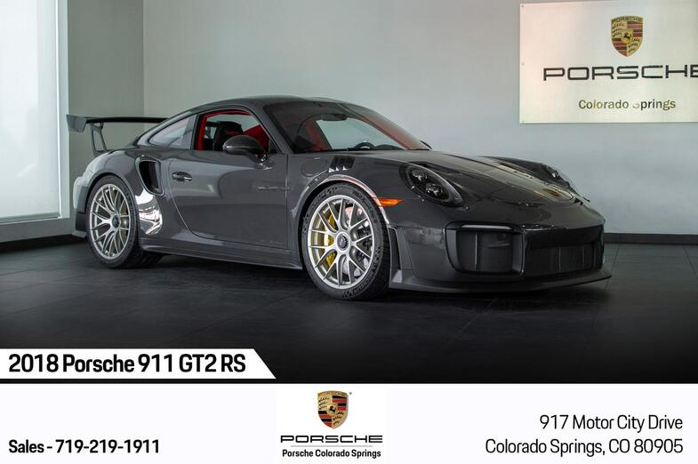 2018 Porsche 911 911 GT2 RS Colorado Springs CO