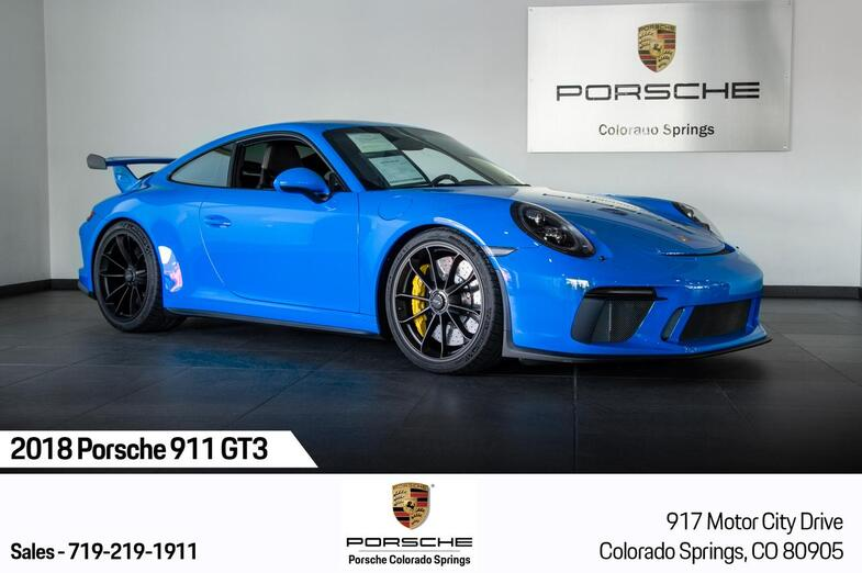 2018 Porsche 911 911 GT3 Colorado Springs CO
