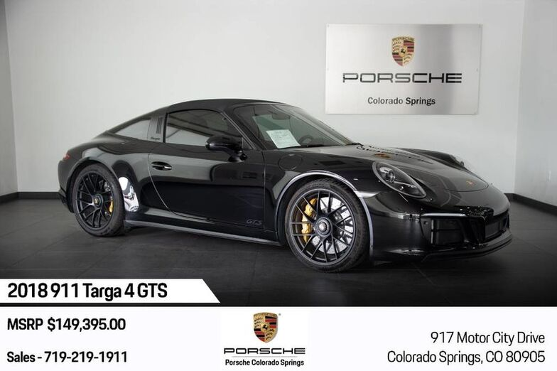 2018 Porsche 911 911 Targa 4 GTS Colorado Springs CO