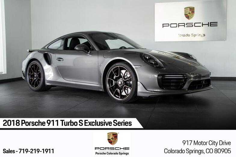 2018 Porsche 911 911 Turbo S Exclusive Series Colorado Springs CO