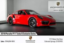 2018 Porsche 911 911 Turbo S Exclusive Series