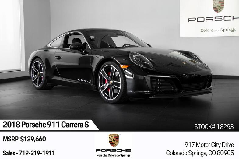 2018 Porsche 911 Carrera S Colorado Springs CO