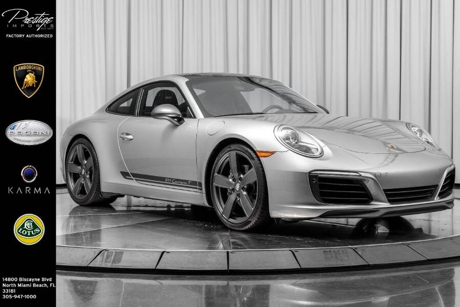 2018 Porsche 911 Carrera T North Miami Beach FL
