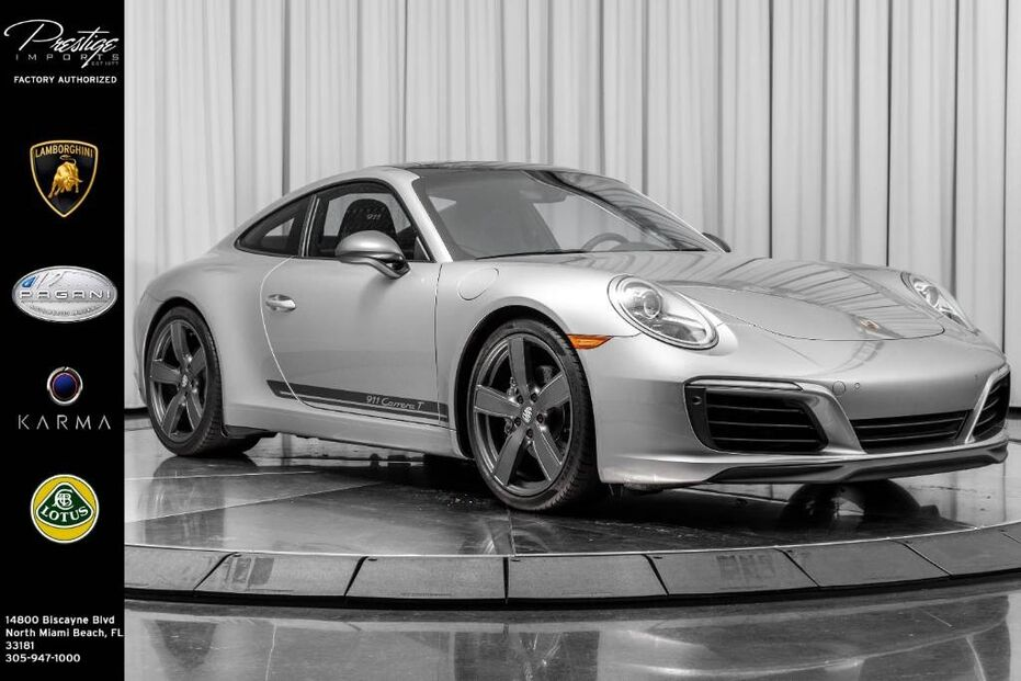 2018_Porsche_911_Carrera T_ North Miami Beach FL