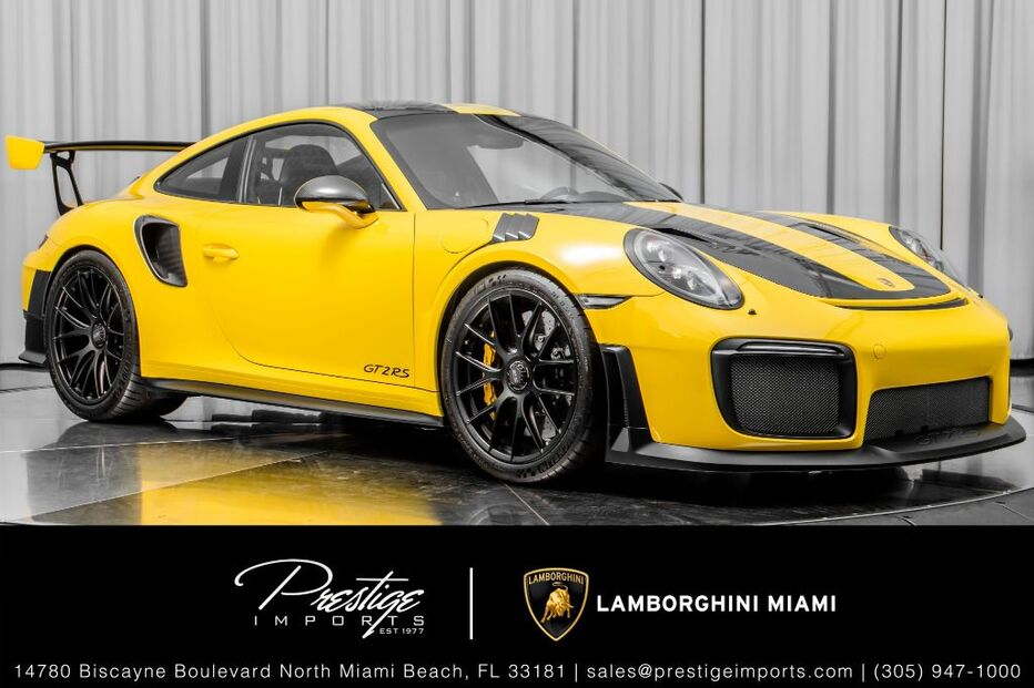 2018_Porsche_911_GT2 RS_ North Miami Beach FL