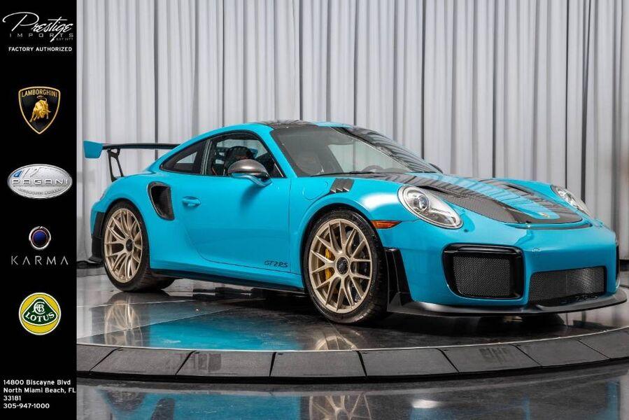 2018 Porsche 911 GT2 RS North Miami Beach FL