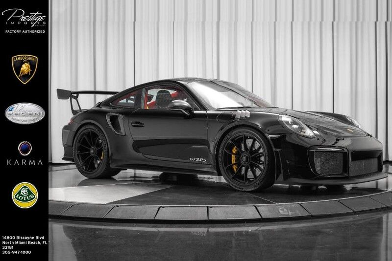 2018_Porsche_911 GT2 RS Weissach Package__ North Miami Beach FL