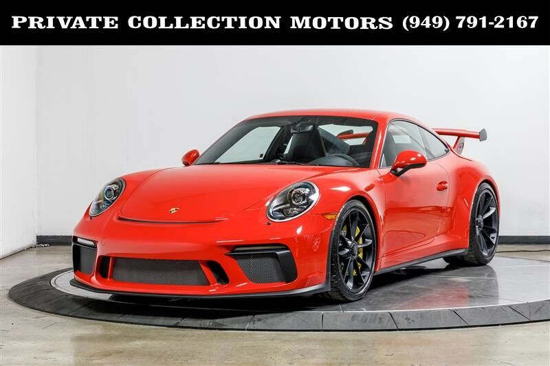 2018_Porsche_911_GT3 6 Speed Carbon Ceramics Axel Lift_ Costa Mesa CA