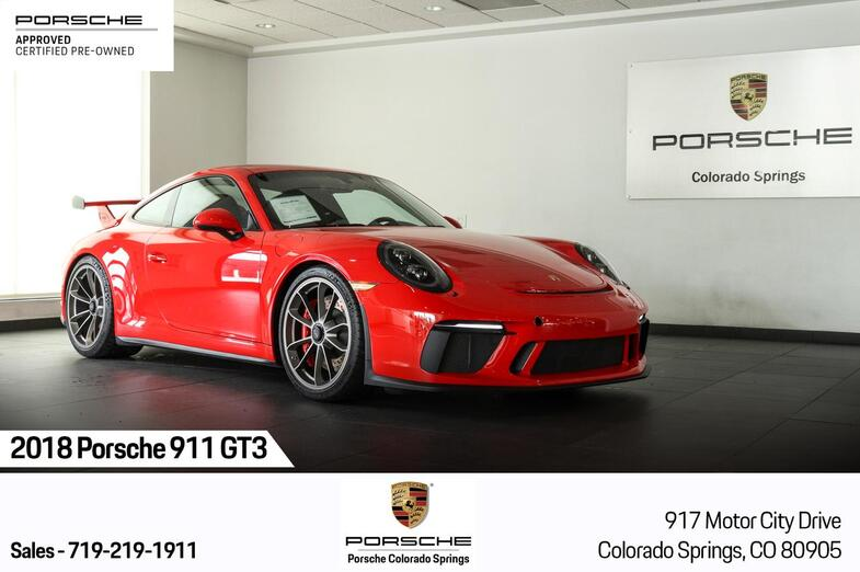2018 Porsche 911 GT3 Colorado Springs CO