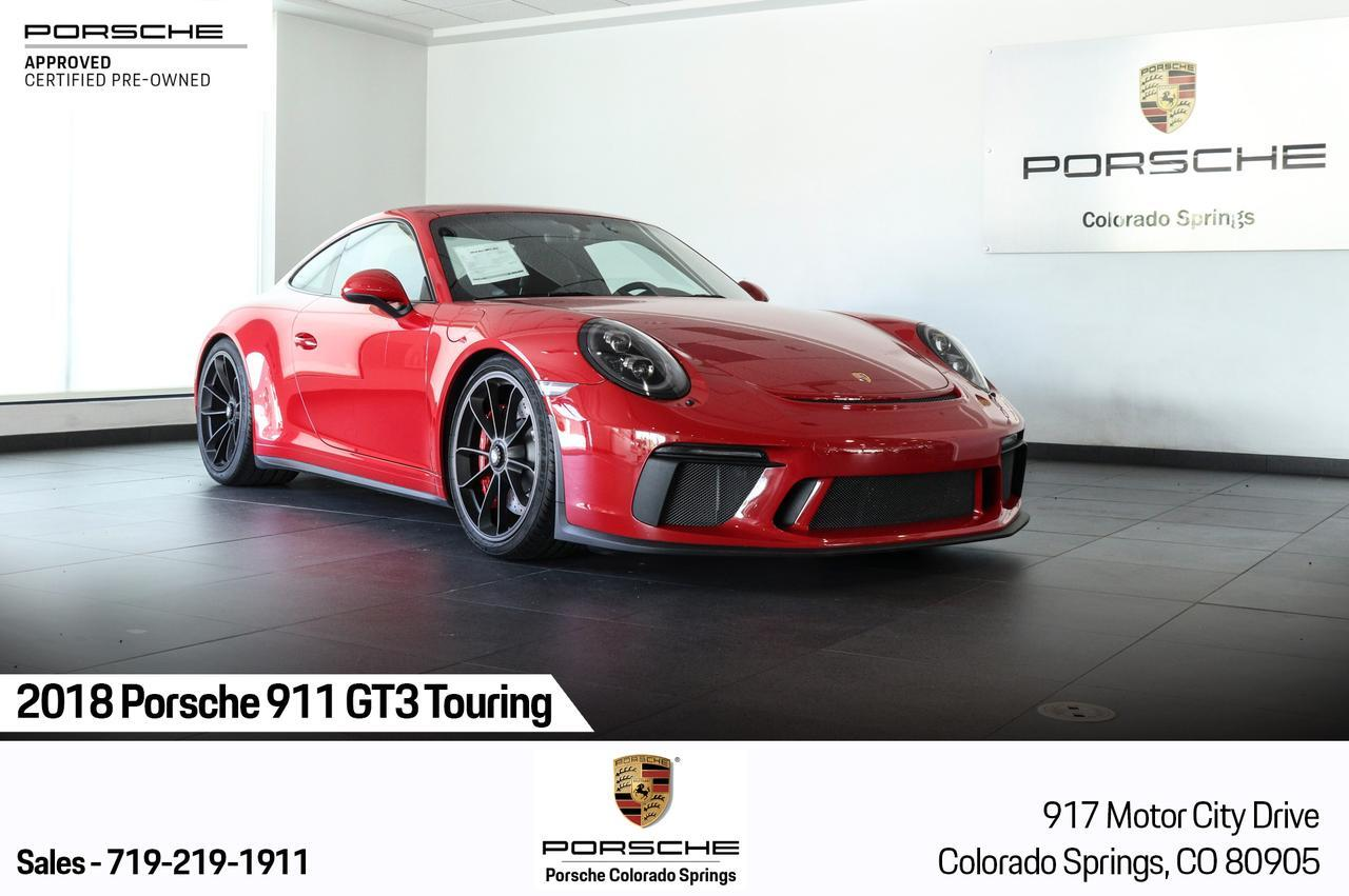 2018 Porsche 911 GT3 Touring Colorado Springs CO