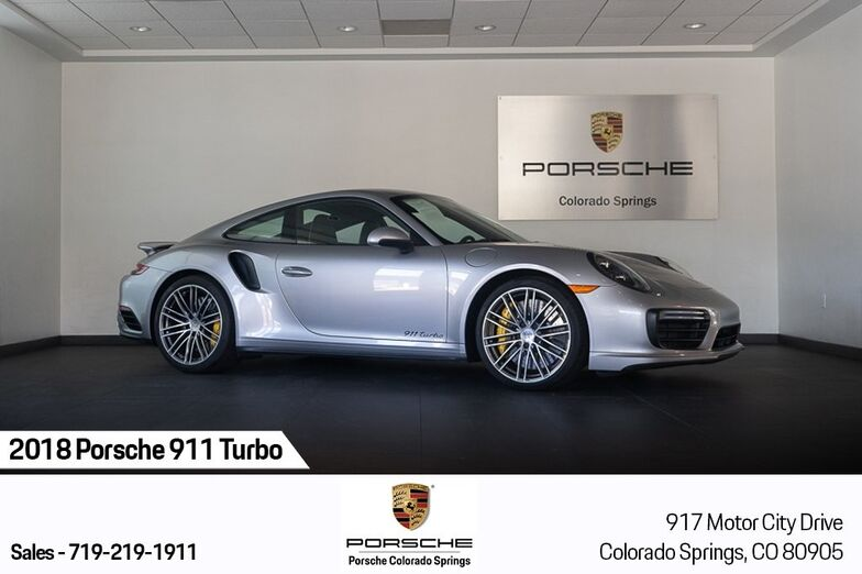 2018 Porsche 911 Turbo Colorado Springs CO
