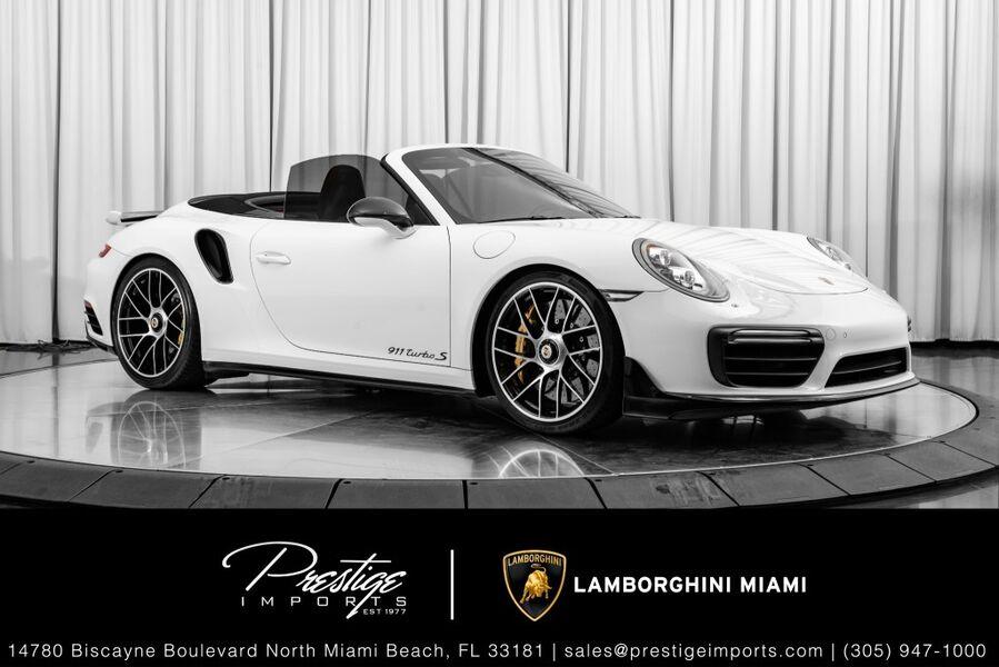 2018_Porsche_911_Turbo_ North Miami FL