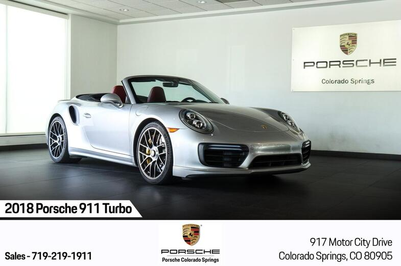 2018 Porsche 911 Turbo S Colorado Springs CO