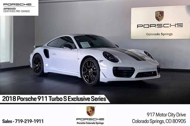 2018 Porsche 911 Turbo S Exclusive Series Colorado Springs CO