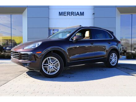 2018_Porsche_Cayenne__ Merriam KS