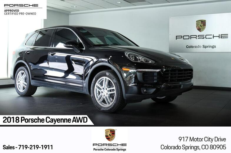 2018 Porsche Cayenne AWD Colorado Springs CO