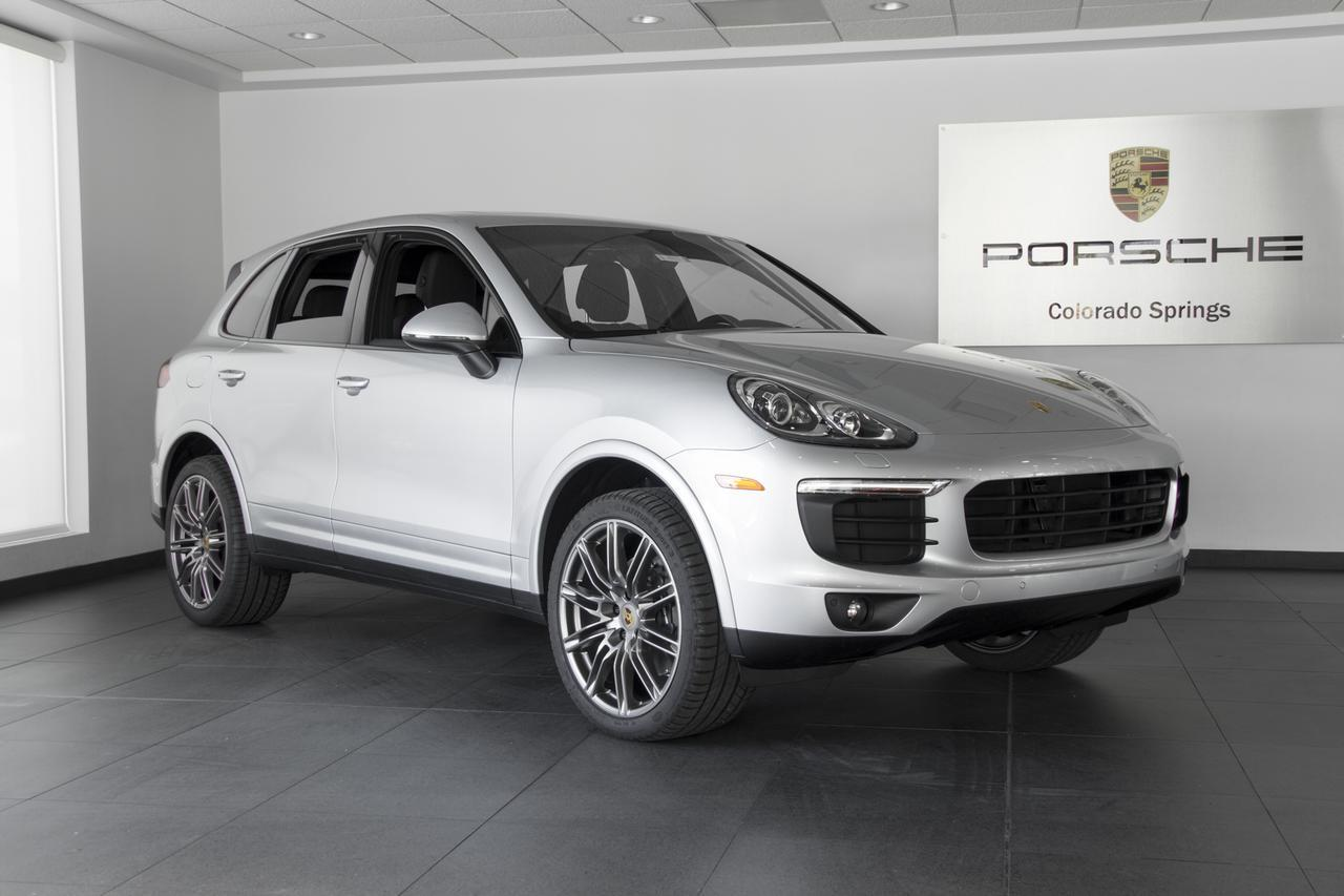 2018 Porsche Cayenne Cayenne Platinum Edition Colorado Springs CO